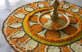 deepavali floral greetings