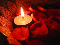 free floating candle wallpaper