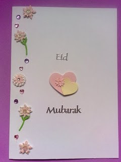 Homemade Eid Cards
