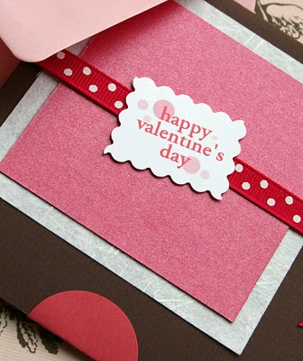 View the collection of paper greeting cards used to with Happy Valentine's