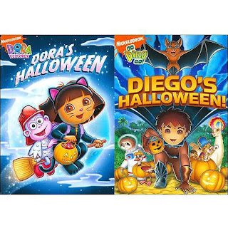 dora and diego halloween collection