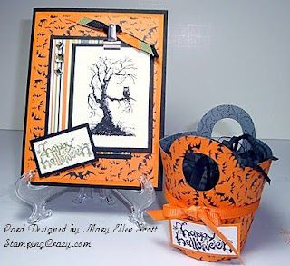 free stamping halloween cards
