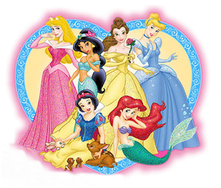 disney princess valentine wish cards