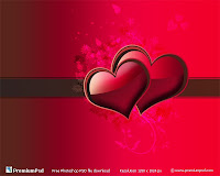 Valentine Vector Hearts eCards