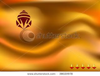 Deity Ganesha Diwali Cards