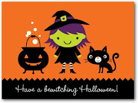 Halloween Kitten Greeting Cards