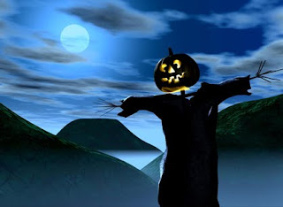Blue Halloween Sky Wallpapers