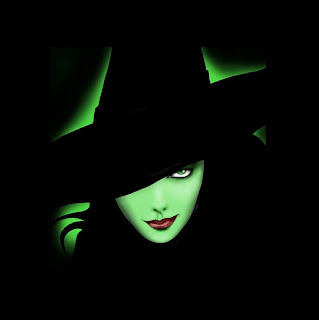 Halloween Green Witch Wallpapers