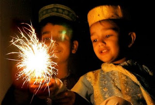 kids diwali photos