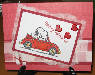 snoopy valentine greeting card