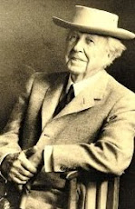 "Frank Lloyd Wright..""Tip the world over on its side and everything loose will land in Los Angeles."""