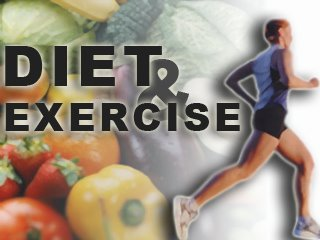 Diet and Exercise Together,