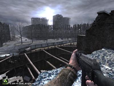 Метро 2033. Скриншот: Выход на поверхность