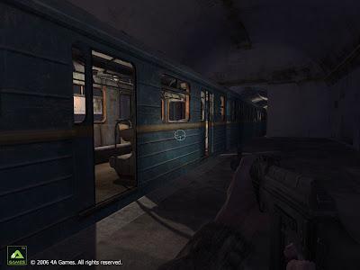 Метро 2033. Скриншот: Вагон