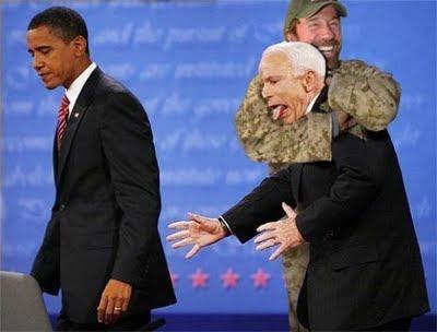 Чак Норрис, Моисеев и Обама