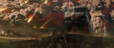 Кадр из фильма 2012: извержение вулкана, трейлер