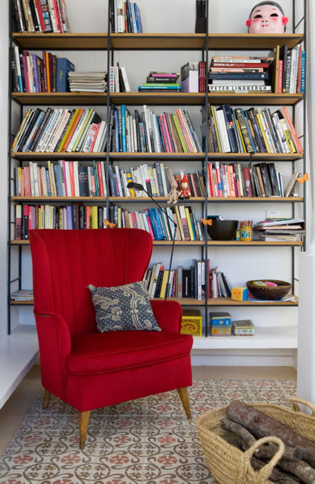 Storing Books In Small Spaces Part - 44: Although You Donu0027t Have Lot Of Them, Is Always Nice Keep Them Organized.  Give Them A Small Space At Home. Here Some Fresh Ideas To Storing Your Books .