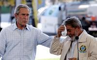 «Bush no sabes cuento desearía un poquito de etanol bebible de mi amigo Fidel»