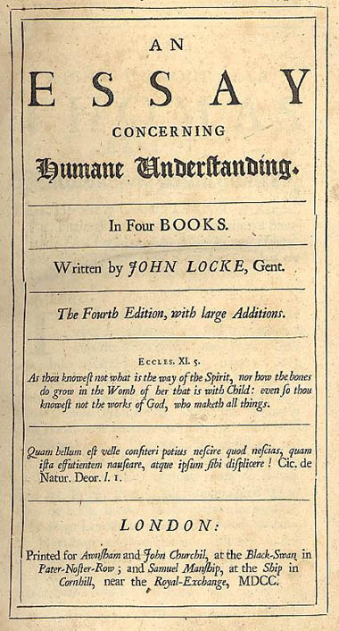 lex christianorum golden rule in john locke s an essay concerning  title page of john locke s essay concerning human understanding