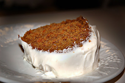 Carrot Cake With Junior Baby Food Carrots