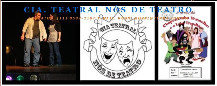 Apoio Cultural - Cia. Teatral Nós de Teatro - Go