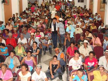 Encuentro de mineras y mineros en Ituango