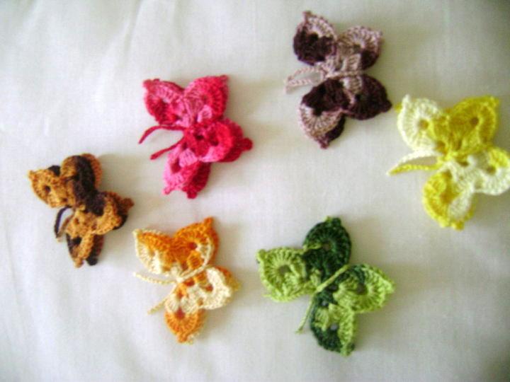 Creaciones Marilen - Tejidos a Crochet: MARIPOSAS MULTIUSOS Y ...