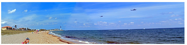Helicopters Over Pompano Beach