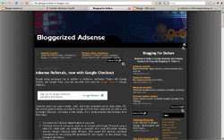 Bloggerized Adsense - 3 Columns Perfect Adsense Template
