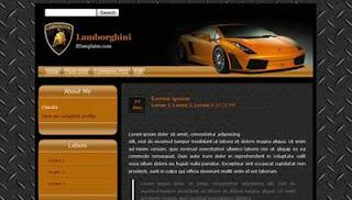 Blogger Templates : Lamborghini
