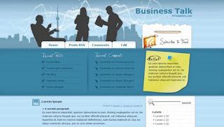 Blogger Templates : Business Talk