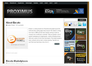 Proximus Blogger Template