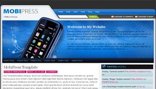Mobipress Blogger Template