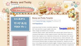 Anime Template : Bunny and Teddy