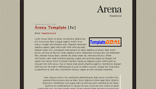 Blogger Template Arena