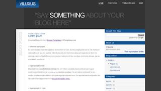 Viluxus Blogger Template