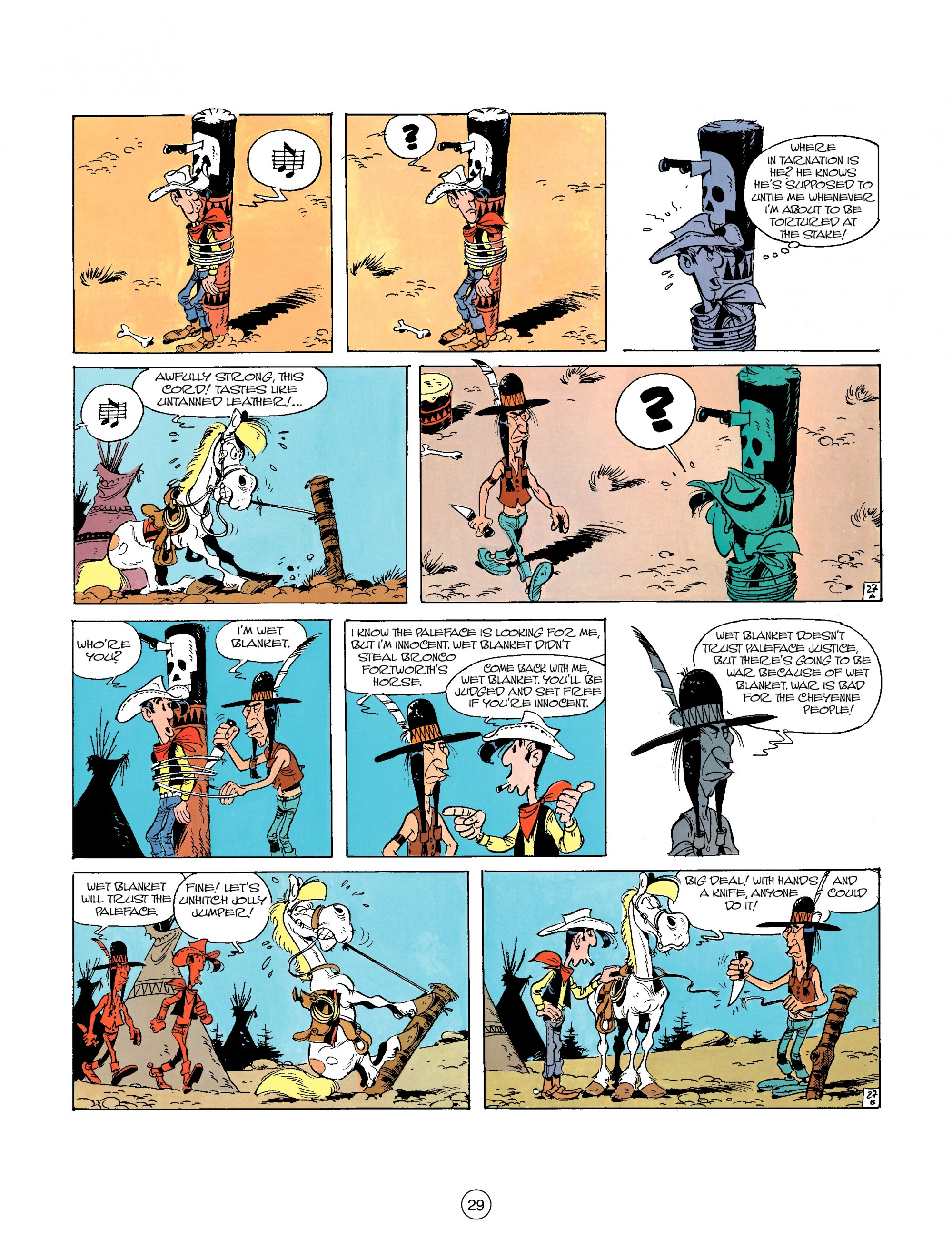 A Lucky Luke Adventure 26 Page 28