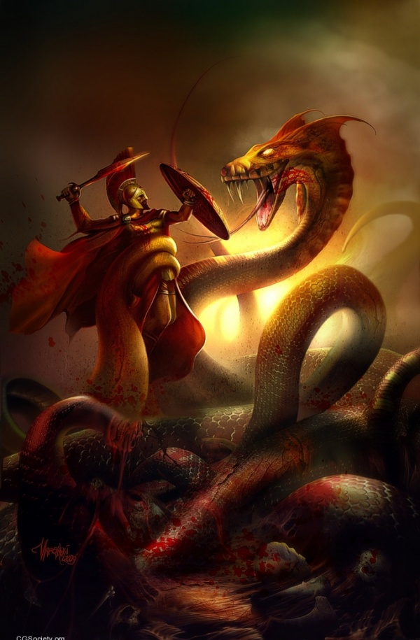 Posted by freshguy227 at 5 59 AM No commentsGreek Mythology Hydra