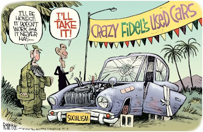 Barack Obama cartoon.