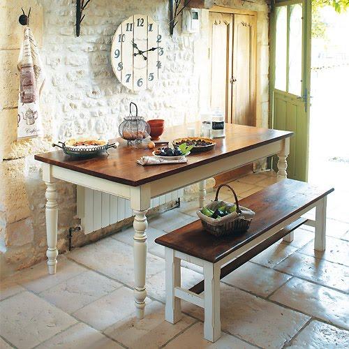 Maison du chocolat um jeito de viver toscano Como hacer una mesa de madera rustica