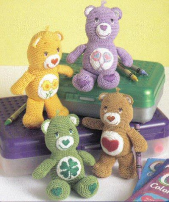 FREE CARE BEAR KNITTING PATTERNS - VERY SIMPLE FREE ...
