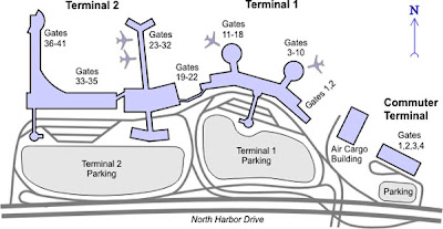 how to find your gate in an airport