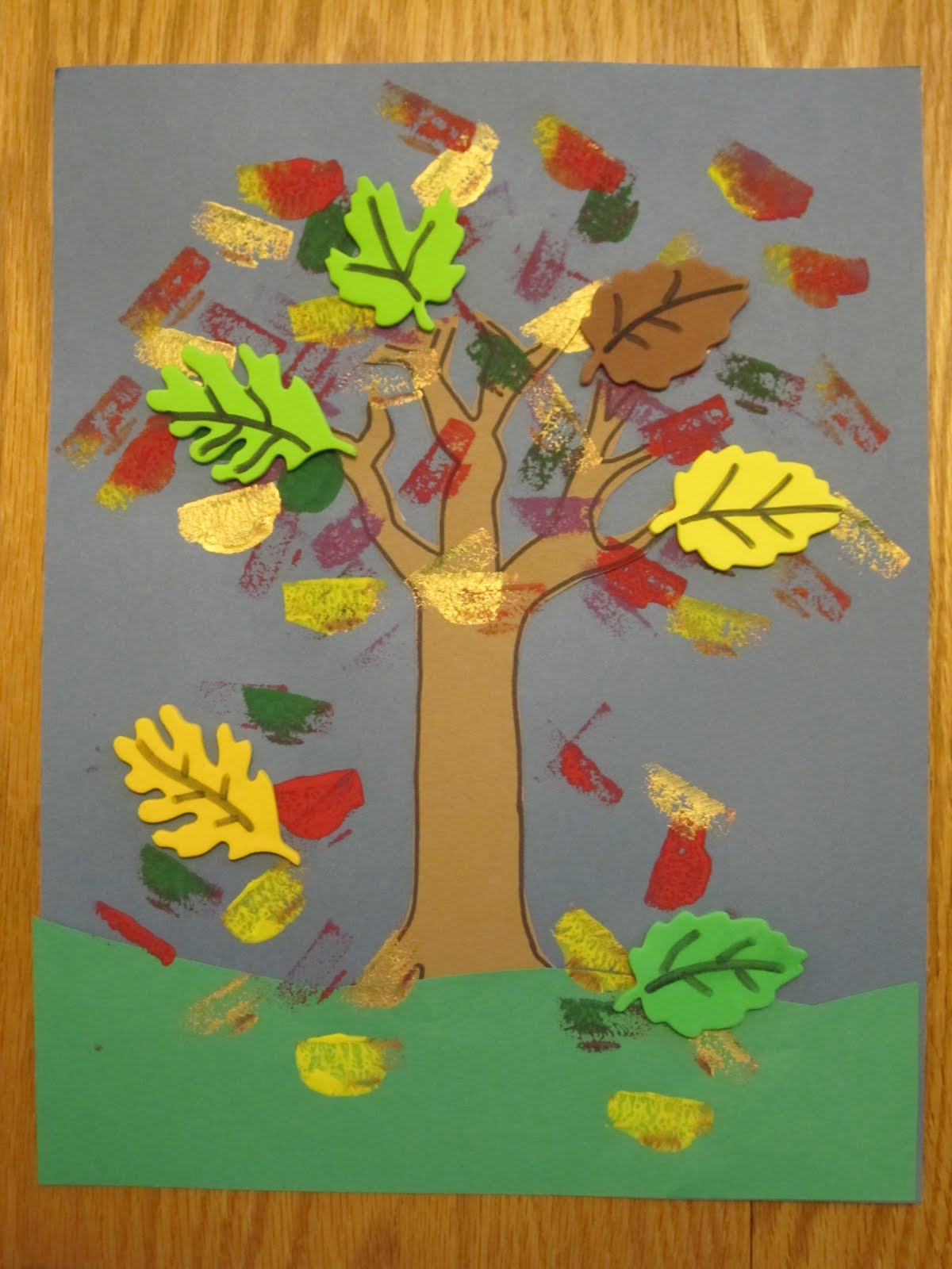 Leaves Painting For Kids Leaves And Have The Kids
