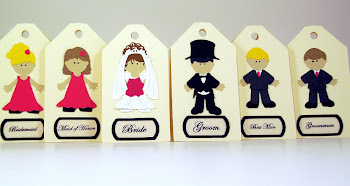 Your Custom Wedding Party Tags