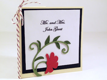 Custom Place Card Book