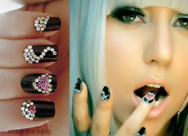 bling lady gaga poker face inspired