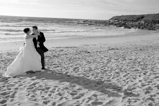 Wedding photography Fistral beach