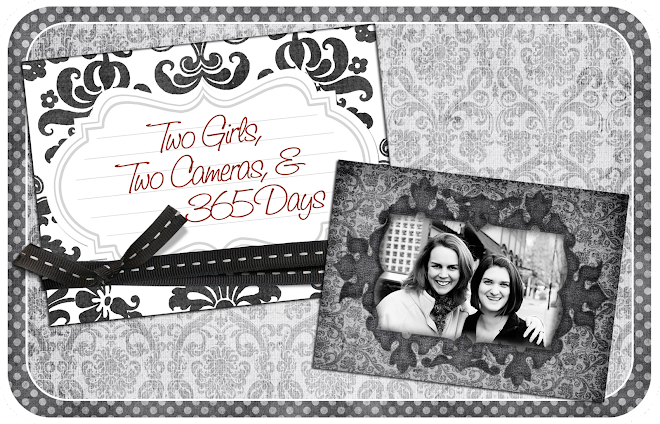 Two Girls, Two Cameras, & 365 Days!