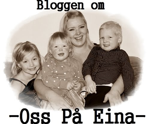 OsspåEina - en blogg om familie, hverdag, kosthold, trening og alt annet.