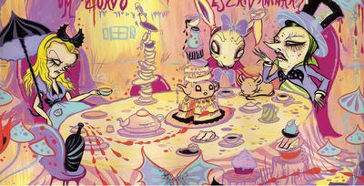 Alice - Ilustração de Camille Rose Garcia (3)